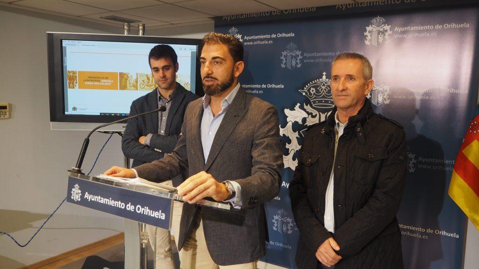 La concejalía de Medio Ambiente presenta 'Orihuela Ciudad 100% ciclable' 6
