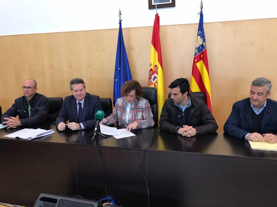 La Diputación invertirá en Bigastro y Cox casi 300.000 € en obras hídricas 6