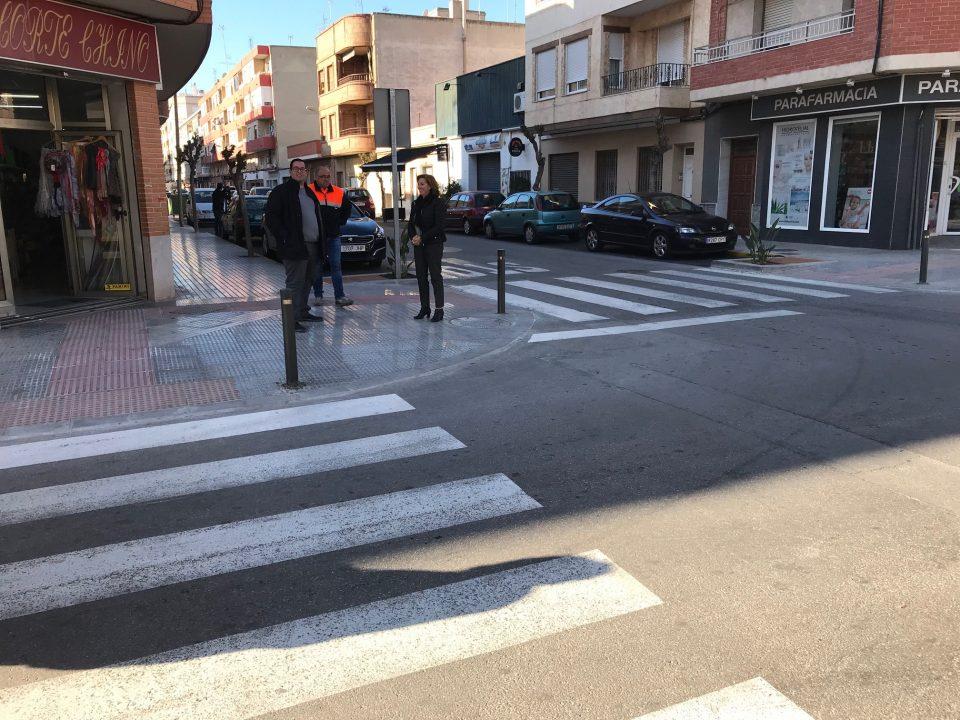 Almoradí invierte 230.000 euros en la accesibilidad de la calle Mayor 6
