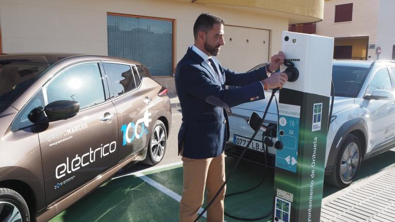 Orihuela contará con dos puntos más de recarga para vehículos eléctricos 6