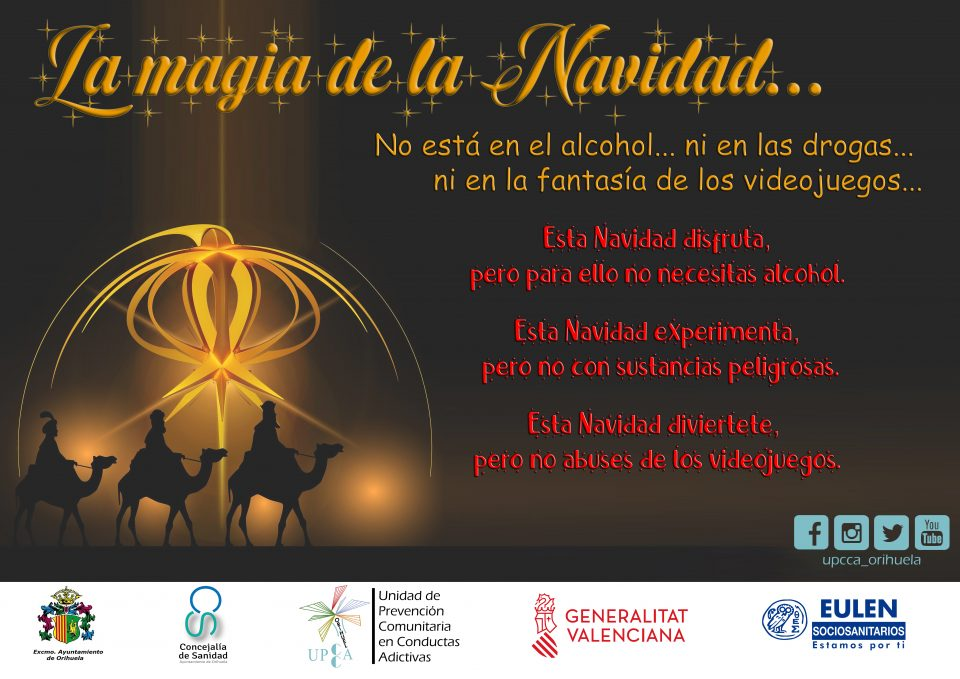 Sanidad alerta de los riesgos por consumo de alcohol y otras drogas en Navidad 6
