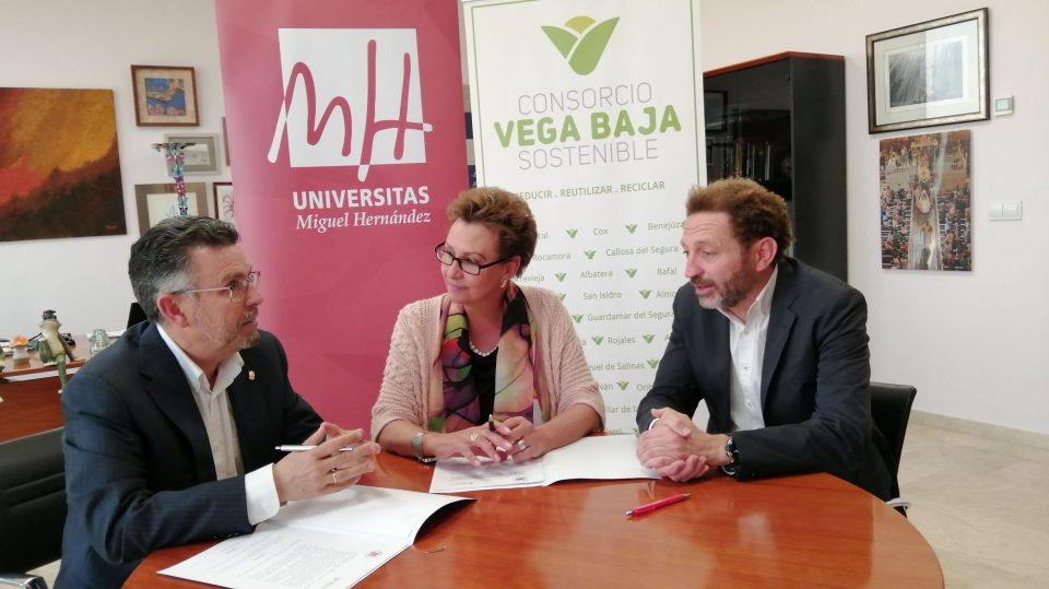 El Consorcio Vega Baja Sostenible becará a un estudiante de la UMH 6