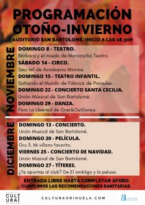 El Auditorio de San Bartolomé acogerá una amplia programación infantil 7