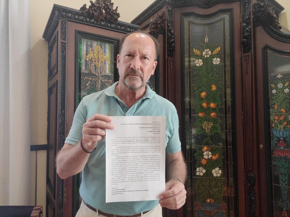 Emilio Bascuñana denuncia que la revista Carta Local le ha censurado en una entrevista 6