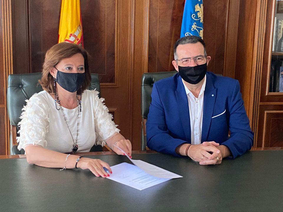 Acuerdo de Gobierno en Almoradí hasta final de legislatura 6