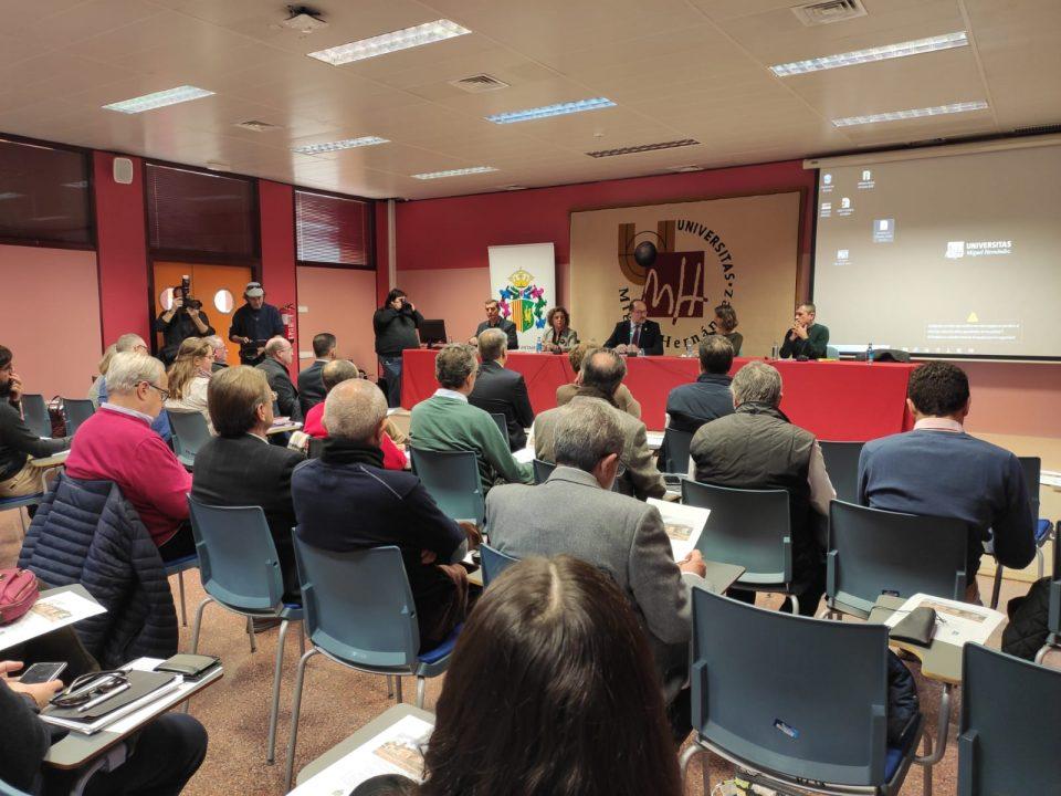 Orihuela acoge las Jornadas de Cambio Climático en el campus de Salesas de la UMH 6