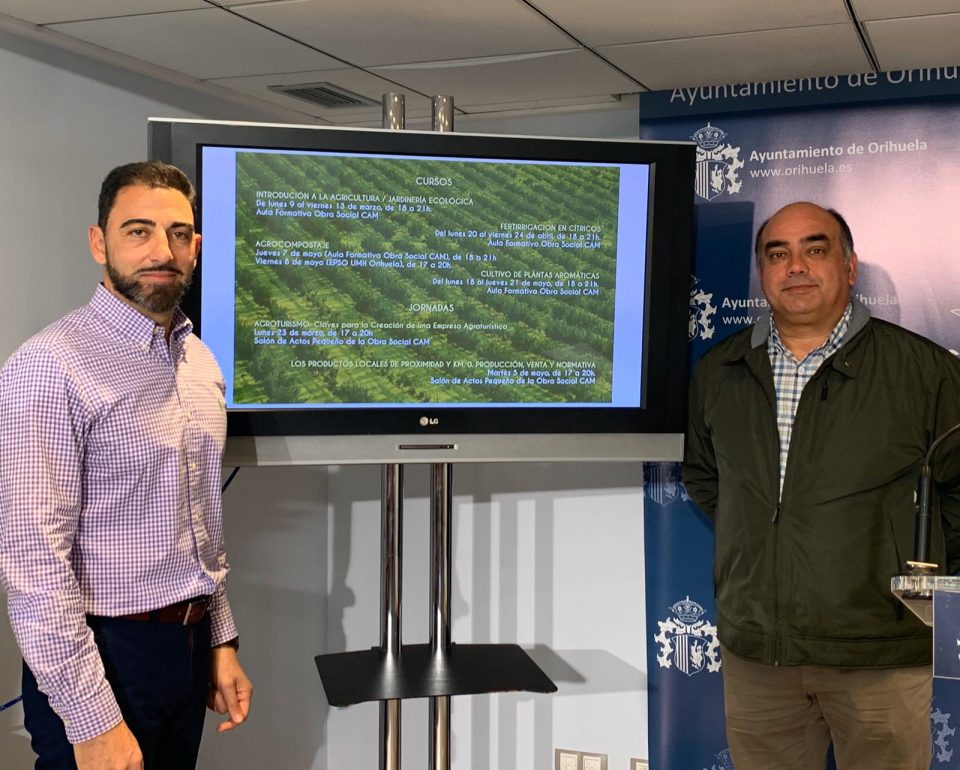 Orihuela ofrece cursos y jornadas sobre formación agroalimentaria 6
