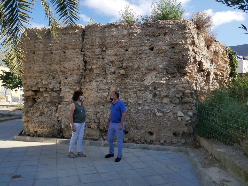 El Ayuntamiento de Orihuela adquiere la parcela donde se ubica la Torre de Embergoñés 6