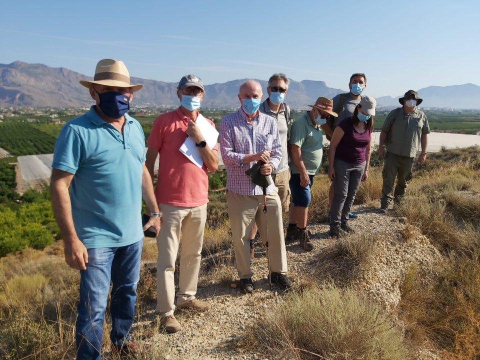 Orihuela inicia la excavación del Yacimiento de Los Saladares 6