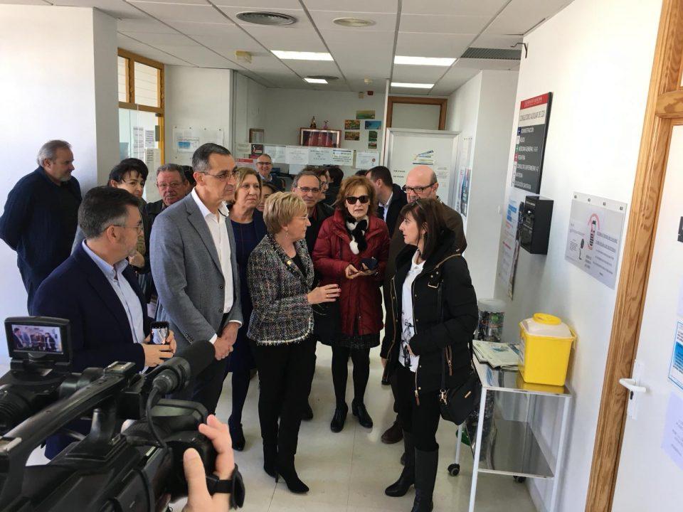 Sanidad anuncia la ampliación del Consultorio Auxiliar de Cox 6