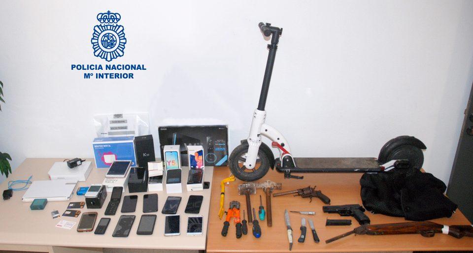 Detenidos los presuntos ladrones que atacaban a repartidores de pizzas en Orihuela 6