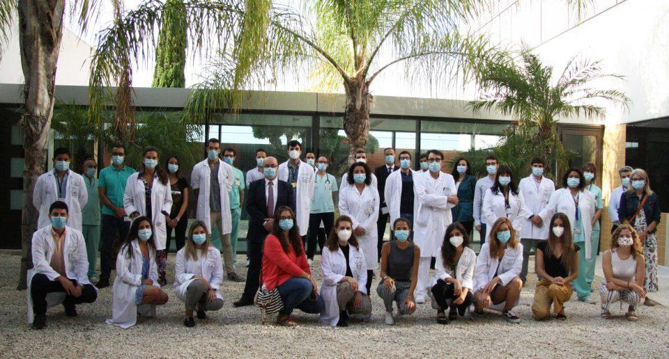 El departamento de Salud de Torrevieja da la bienvenida a la décima promoción MIR 6