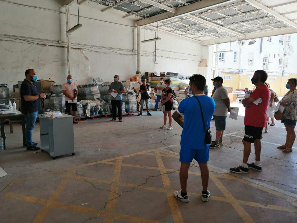 El Ayuntamiento de Orihuela contrata a 102 desempleados para realizar tareas de limpieza 6