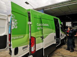 Limpieza Viaria y RSU pone en funcionamiento la hidrolimpiadora de Orihuela Costa 7