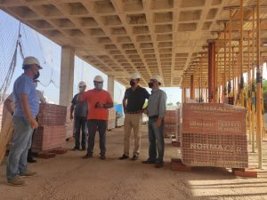 Las obras del Centro de Emergencias de Orihuela Costa avanzan a buen ritmo 8