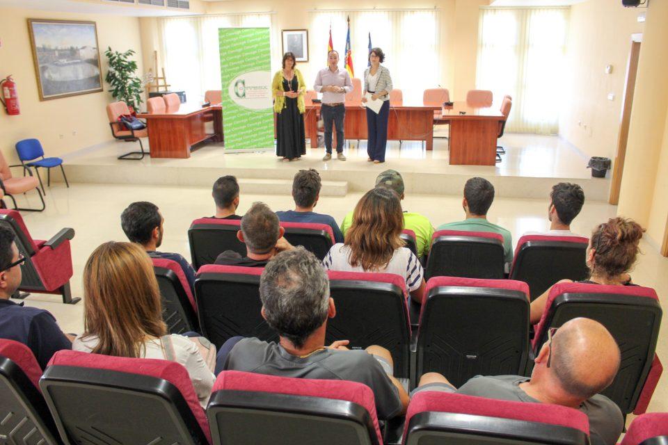 Convega finaliza el curso de mantenimiento en Formentera del Segura 6