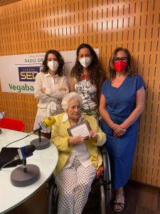 Gabina Juárez, la usuaria más longeva de la Residencia Centro de Personas Mayores Dependientes de Orihuela 7