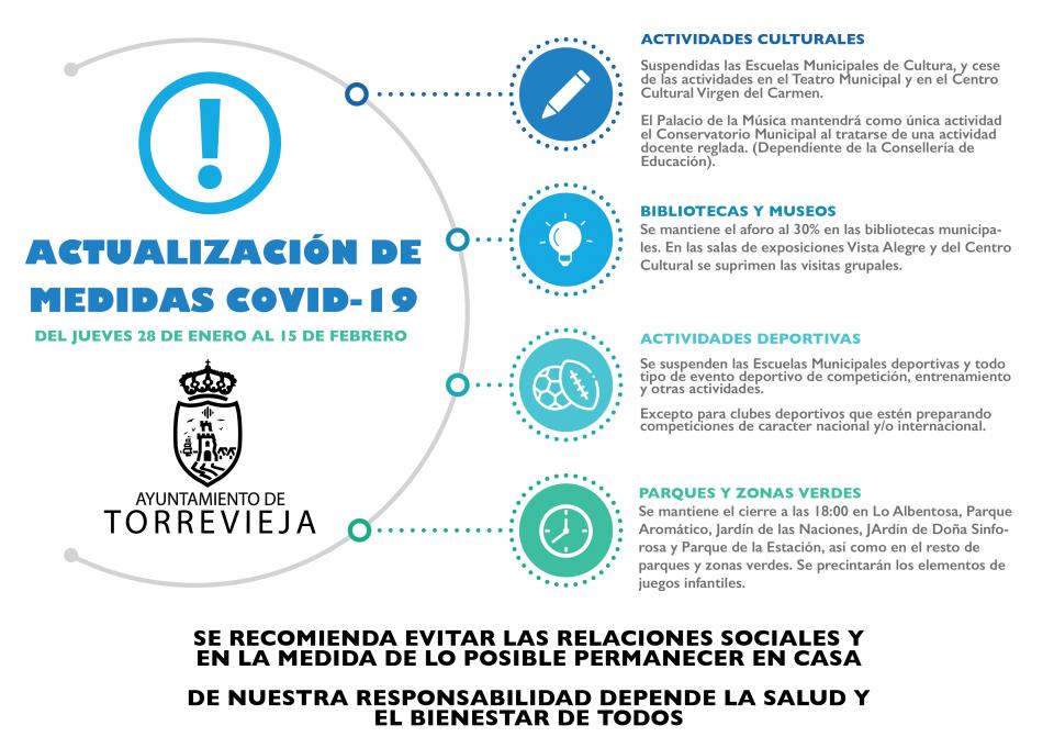 El alcalde de Torrevieja publica un decreto con nuevas medidas ante la COVID19 6