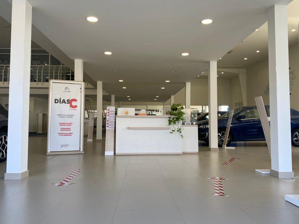 La nueva normalidad llega a Citroën Grupo Marcos con todas las medidas de seguridad 6