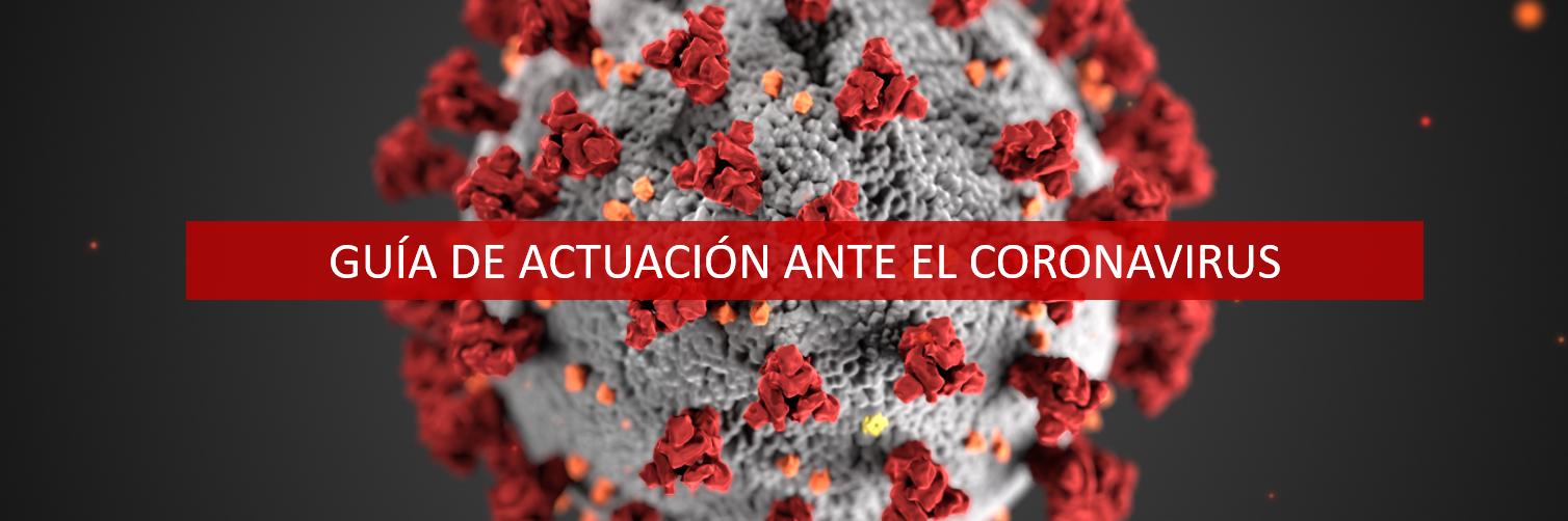 Guía de actuación ante el coronavirus 11