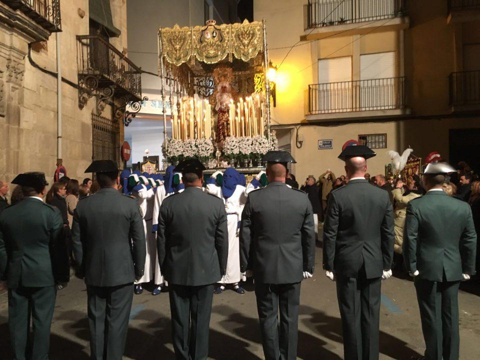 "La Guardia Civil, Cofrade de Honor de ""El Lavatorio"" 6"
