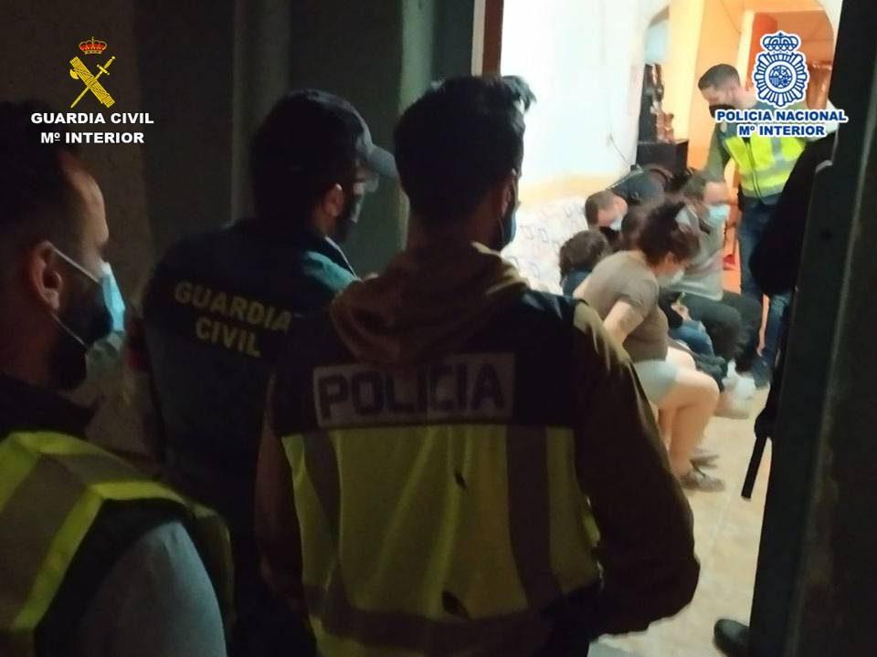 Desarticulado un grupo criminal que asaltaba domicilios en la Vega Baja con extrema violencia 6