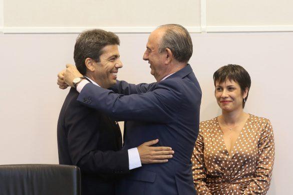 La Diputación comienza el mandato con siete representantes de la Vega Baja 58