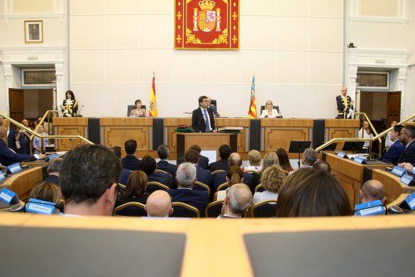 La Diputación comienza el mandato con siete representantes de la Vega Baja 55