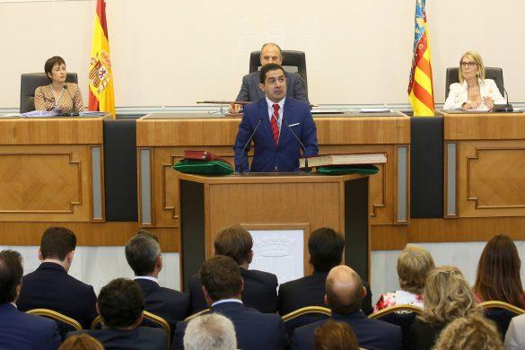 La Diputación comienza el mandato con siete representantes de la Vega Baja 53