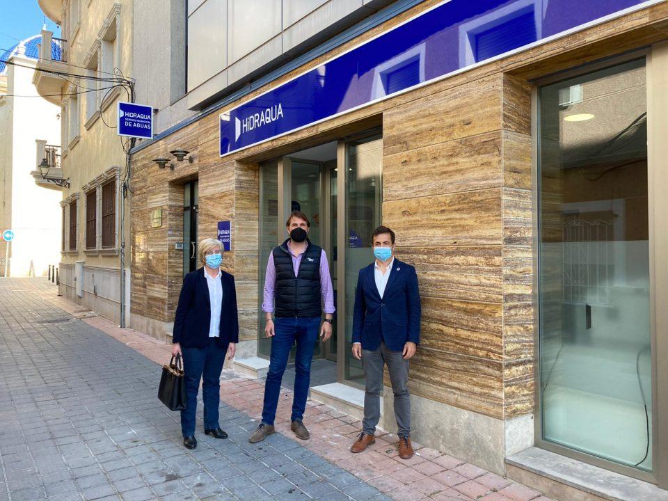 Hidraqua abre una nueva oficina en Catral más digital, sostenible y segura frente a la COVID 19 6