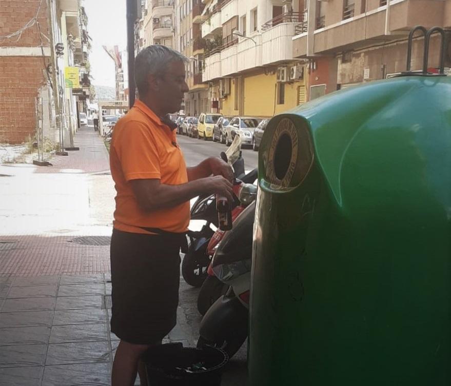 Limpieza Viaria Orihuela promueve el reciclaje de vidrio en el sector hostelero 6