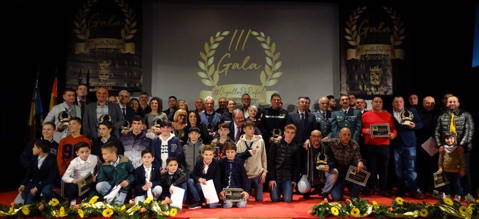 La Gala Orgullo de Rafal reconoce a colectivos y personas que ayudaron durante la DANA 6