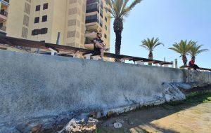 Finaliza la reparación del frente marítimo de la Avenida de los Marineros de Torrevieja 7
