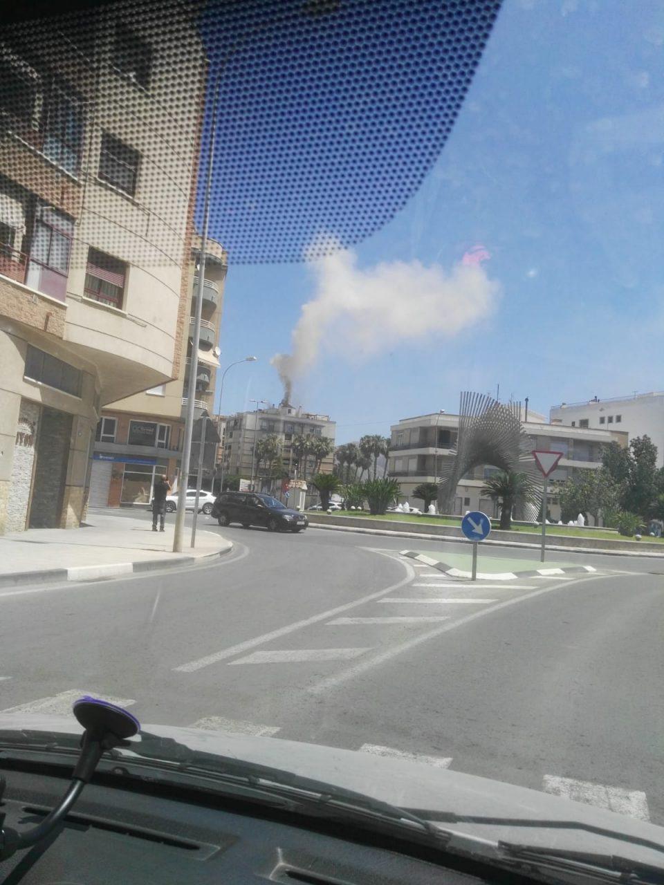 Incendio en un restaurante en la Avenida Príncipe de Asturias en Orihuela 6