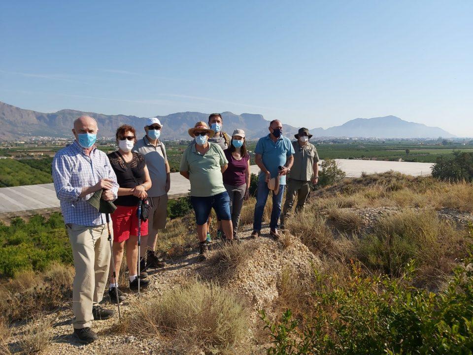 En busca de restos arqueológicos en Los Saladares y en el Castillo de Orihuela 6