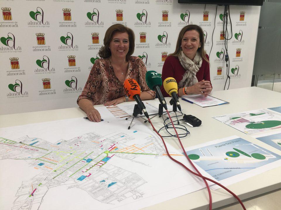 Casi 7 millones de euros se han destinado en Almoradí en dos años 6