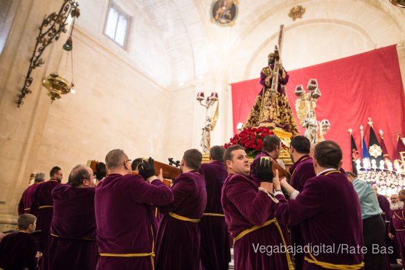 Nuestro Padre Jesús de Orihuela regresa a su camarín 8