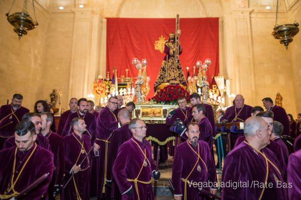 Nuestro Padre Jesús de Orihuela regresa a su camarín 9