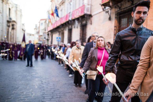Nuestro Padre Jesús de Orihuela regresa a su camarín 15