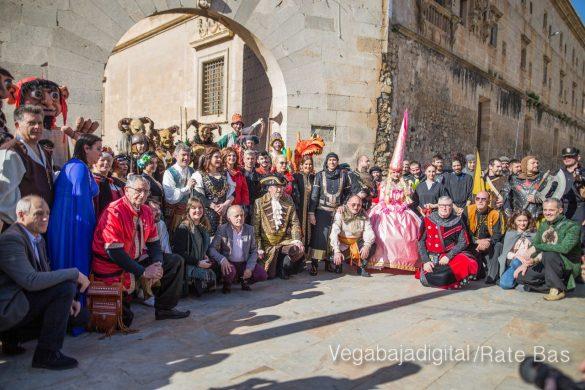 La Armengola pregona el Mercado Medieval de Orihuela 8