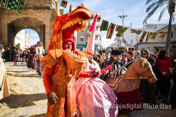 La Armengola pregona el Mercado Medieval de Orihuela 11