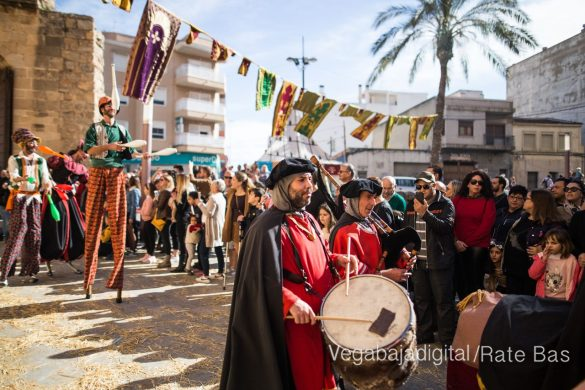 La Armengola pregona el Mercado Medieval de Orihuela 12