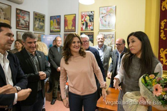 Emoción y alegría en el nombramiento de Elisa Gil como Armengola 2020 21