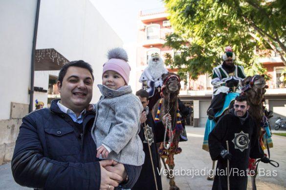 Los Reyes Magos se reencuentran con los niños de Orihuela 12