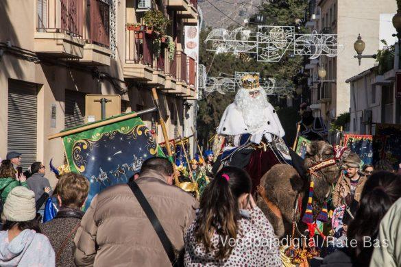 Los Reyes Magos se reencuentran con los niños de Orihuela 16