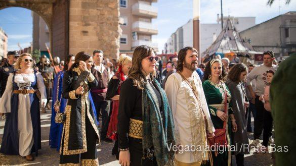 La Armengola pregona el Mercado Medieval de Orihuela 21