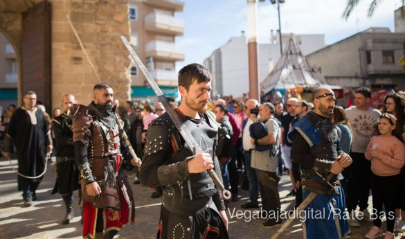 La Armengola pregona el Mercado Medieval de Orihuela 26