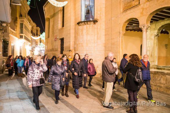 La Ruta de la Virgen de Monserrate se lleva a cabo meses después de la DANA 42