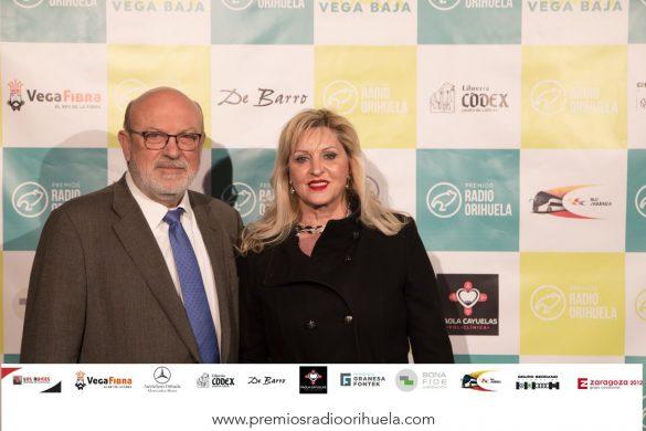 Emoción, diversión y magia en la II edición de los Premios Radio Orihuela 25