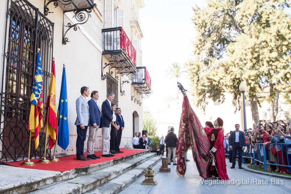 Los Reyes Felipe y Letizia visitan Orihuela 6